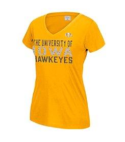 J. America® NCAA® Iowa Hawkeyes Women's Grand Slam Short Sleeve Tee