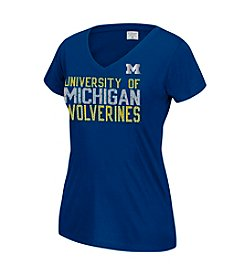 J. America® NCAA® Michigan Wolverines Women's Grand Slam Short Sleeve Tee