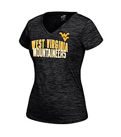 J. America® NCAA® West Virginia Mountaineers Women's Fitness Short Sleeve Tee