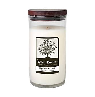 Wood Essence™ 17.5-oz. Clothesline Linen Candle