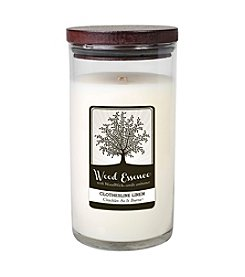 WoodWick® Wood Essence Large Clothesline Linen Candle