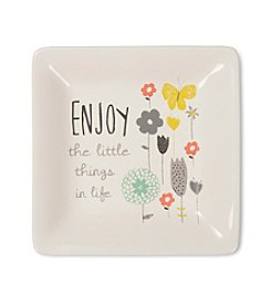 Pavilion Gift Company® Enjoy Little Things Ceramic Dish