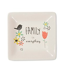 Pavilion Gift Company® Family Is Everything Ceramic Dish