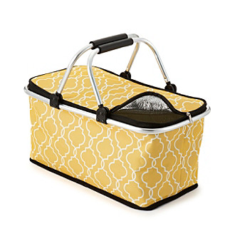 LivingQuarters Botanical Collection Insulated Tote