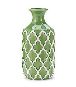 LivingQuarters Botanical Collection Large Stoneware Vase