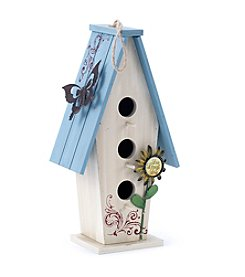 LivingQuarters Botanical Collection Bird House