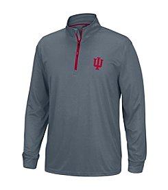 NCAA® Indiana Men's Off Field Long Sleeve Quarter Zip Pullover