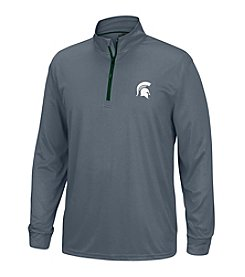 J. America NCAA® Michigan State Spartans Men's Off Field Long Sleeve Quarter Zip Pullover