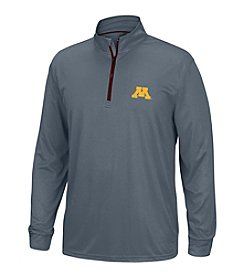 J. America® NCAA® Minnesota Golden Gophers Men's Off Field Long Sleeve 1/4 Zip Pullover