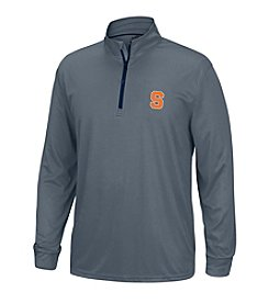 J. America® NCAA® Syracuse Orange Men's Off Field Long Sleeve Quarter Zip Pullover
