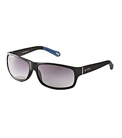 Fossil® Men's Wrap Sunglasses