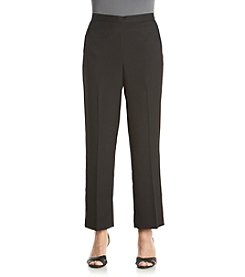 Alfred Dunner® Port Antonio Solid Pants