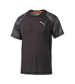 PUMA® Men's Short Sleeve Vented Performance Graphic Tee