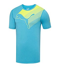 PUMA® Men's Lateral Cat Graphic Short Sleeve Tee
