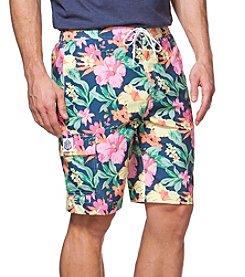 Chaps® Men's Printed Floral Swim Shorts