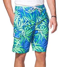 Chaps® Men's Palm Print Swim Shorts