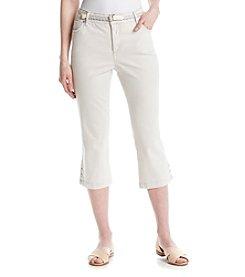 Bandolino® Mandie Rhinestone Capri Pants