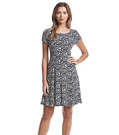 Connected® Geo Patterned Dress
