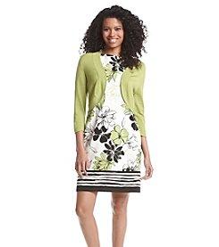 Jessica Howard® Floral Jacket Dress