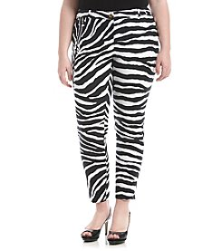 MICHAEL Michael Kors® Plus Size Zebra Print Pants