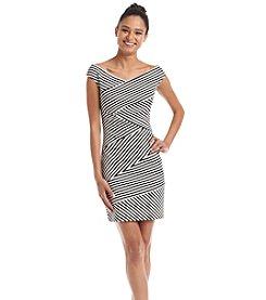 GUESS Striped Bodycon Dress