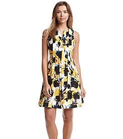 Ivanka Trump® Floral Scuba Dress