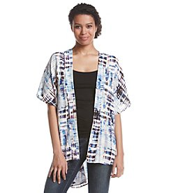 Nine West® Short Sleeve Kimono Cardigan