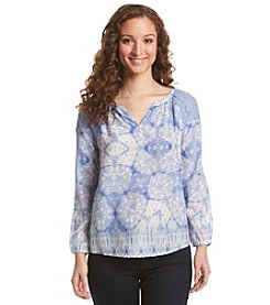 Vintage America Blues Cala Agua Woven Top