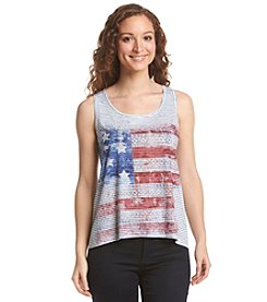 Oneworld® Sleeveless Scoop Neck Top