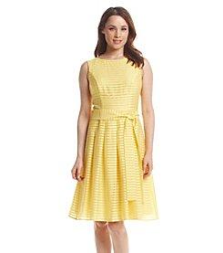 Tommy Hilfiger® Sleeveless Ribbon Stripe Tie Dress