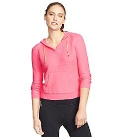 Lauren Active® Hooded Cotton Pullover