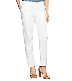 Lauren Jeans Co.® Twill Straight Pants