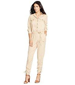Lauren Ralph Lauren® Tencel Belted Jumpsuit