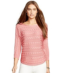 Lauren Ralph Lauren® Cable-Knit Dolman Sweater