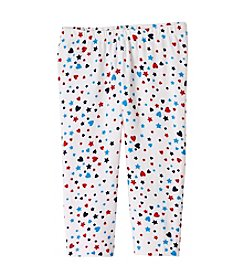 Mix & Match Girls' 2T-6X Star Printed Capri Leggings