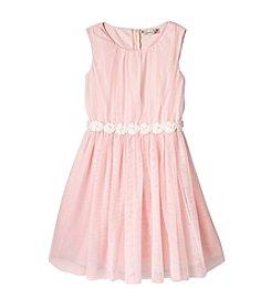 Speechless® Girls' 7-16 Pleated Tulle Dress