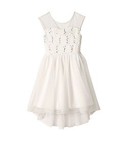 Speechless® Girls' 7-16 Sparkle Mesh Dress