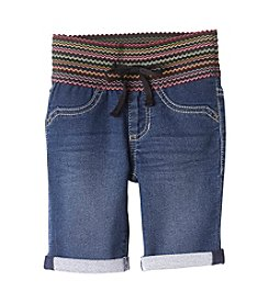 Squeeze® Girls' 2T-6X Wide Waistband Bermuda Shorts