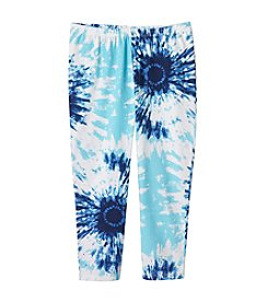 Miss Attitude Girls' 7-16 Tie-Dye Printed Leggings