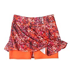 Mambo® Girls' 7-16 Splash Printed Active Skort