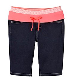 Squeeze® Girls' 2T-14 Crochet Waistband Bermuda Shorts