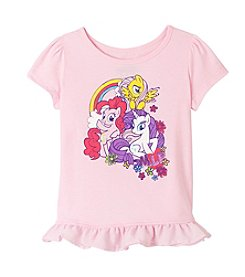 My Little Pony® Girls' 2T-6X Short Sleeve My Little Pony® Printed Tee