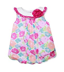 Baby Essentials® Baby Girls' Multi Floral Printed Bubble Romper