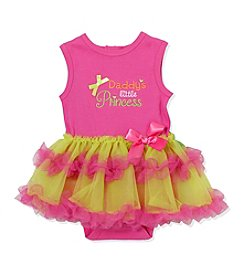 Baby Essentials® Baby Girls' Daddy's Little Princess Printed Bodysuit And Tutu Set