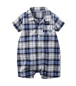 Carter's® Baby Boys Plaid Romper