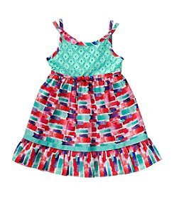 Sweet Heart Rose® Baby Girls' Abstract Printed Sundress