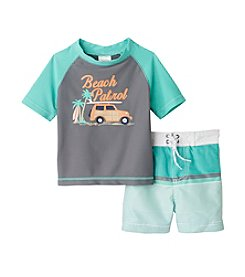 Carter's® Baby Boys Beach Patrol Printed Rashguard Set