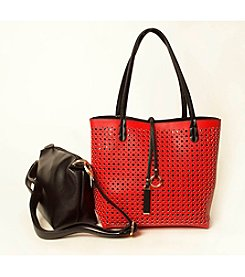 Imoshion Perforated Tote & Crossbody Set