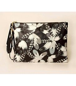 Imoshion Feather Print Clutch