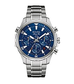 Bulova® Men's Silvertone Watch